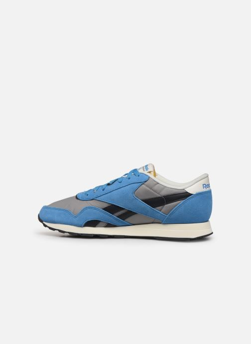 Trainers Reebok CL Nylon H Blue front view