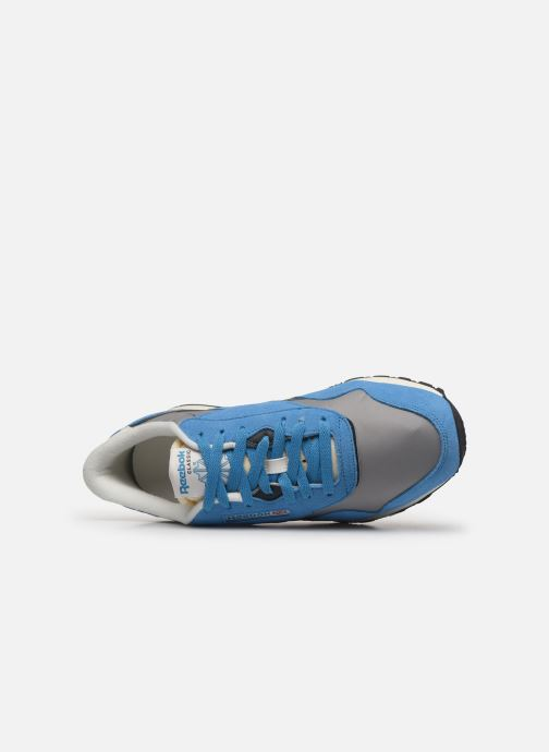 Trainers Reebok CL Nylon H Blue view from the left