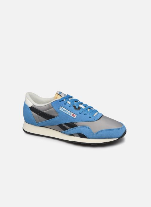 Trainers Reebok CL Nylon H Blue detailed view/ Pair view