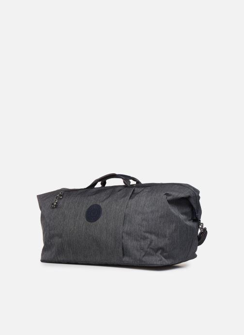 Reisegepäck kipling Adonis  M blau schuhe getragen