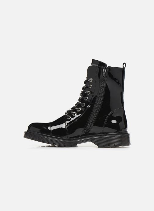 Bottines et boots Bronx RIFKA CHUNKY new Noir vue face