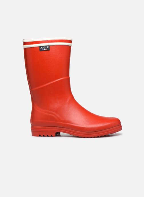 Laarzen Aigle Chanteboot Signature - Made In France - Rood achterkant