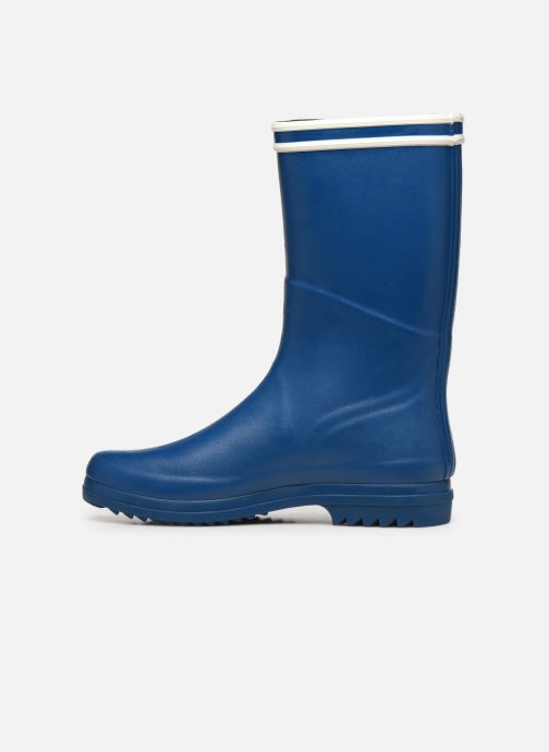 Botas Aigle Chanteboot Signature - Made In France - Azul vista de frente