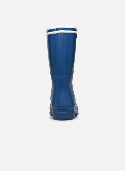 Botas Aigle Chanteboot Signature - Made In France - Azul vista lateral derecha