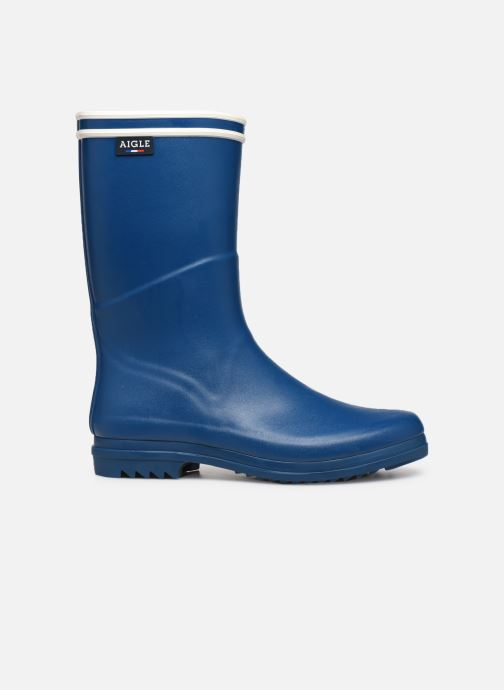 Botas Aigle Chanteboot Signature - Made In France - Azul vistra trasera