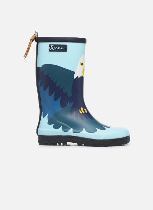Boots & wellies Aigle Woodypop Fun Blue back view