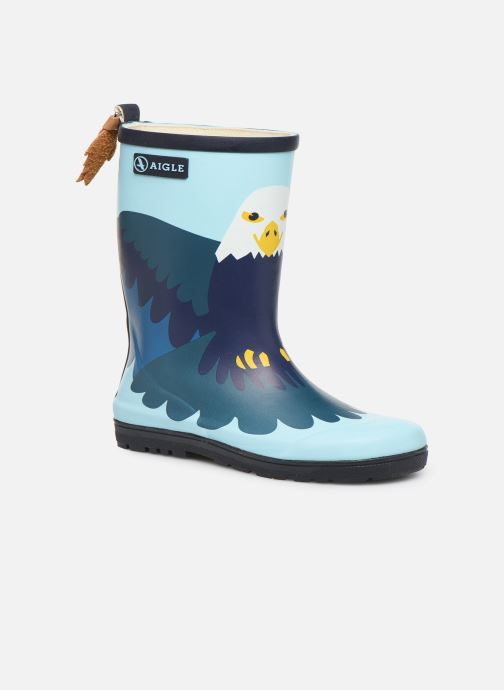 Boots & wellies Aigle Woodypop Fun Blue detailed view/ Pair view
