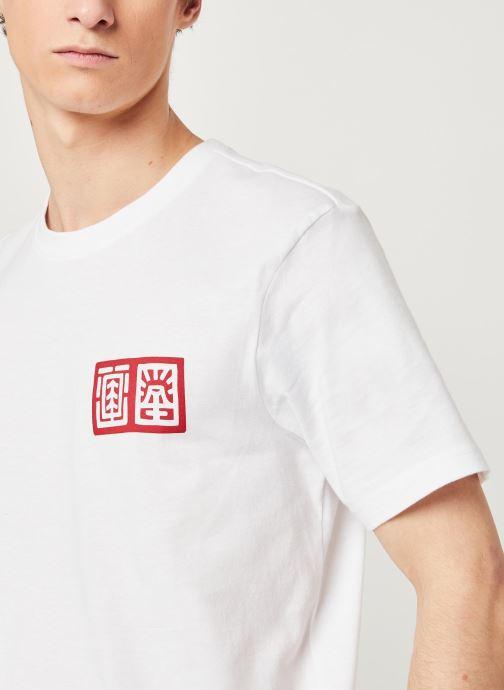 Vêtements Element Tradition C Blanc vue face