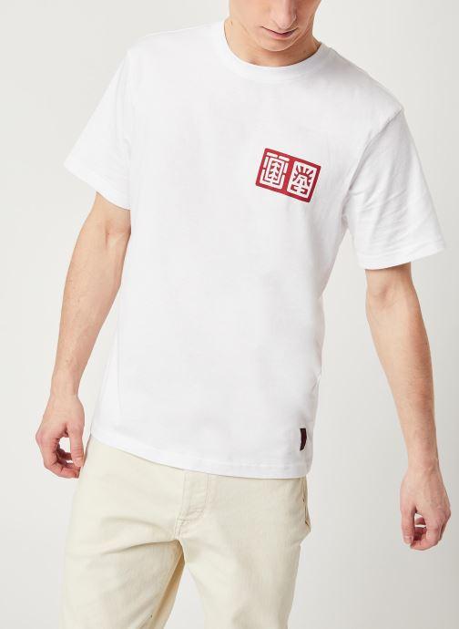 Vêtements Element Tradition C Blanc vue droite