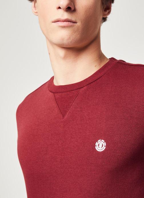 Vêtements Element Cornell Classic C Bordeaux vue face