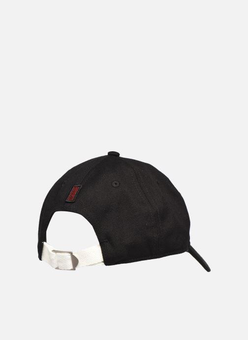 Cappellino Element Timber Fluky Dad C Nero modello indossato