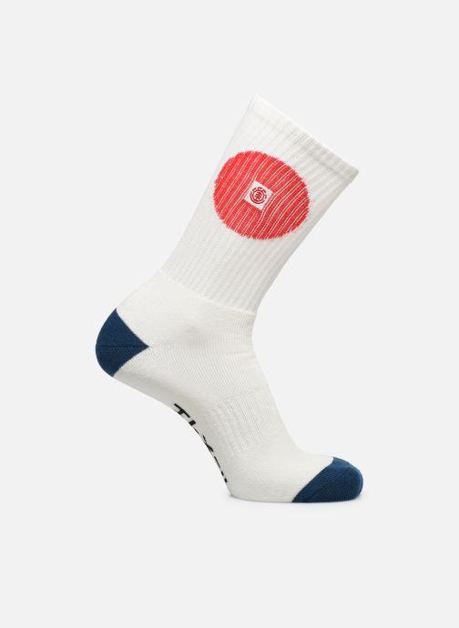 Chaussettes et collants Element Tokyo Socks C Blanc vue détail/paire