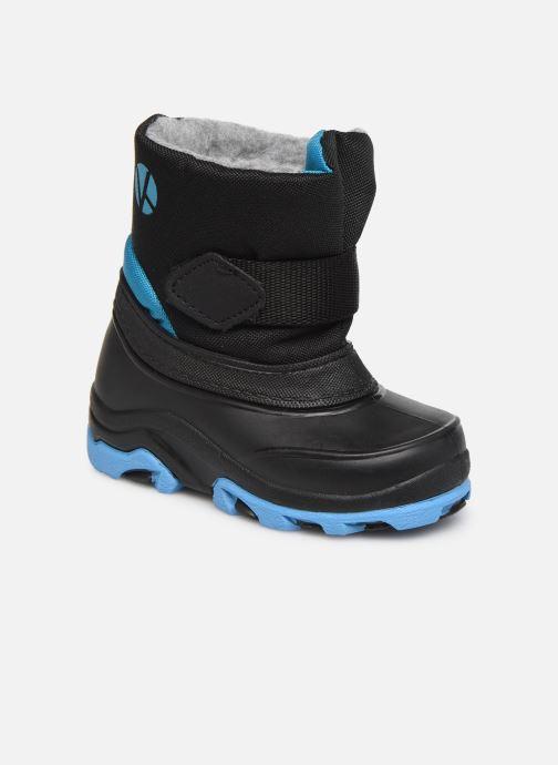 Sport shoes Kimberfeel Nemo Black detailed view/ Pair view