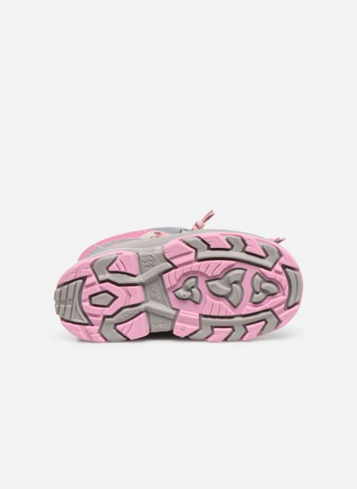 Sport shoes Kimberfeel Waneta Pink view from above