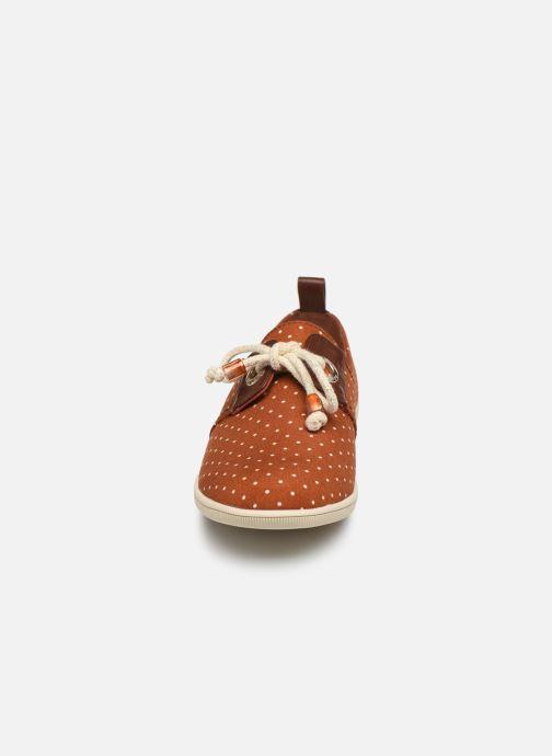 Baskets Armistice STONE ONE W CONFETTI Marron vue portées chaussures
