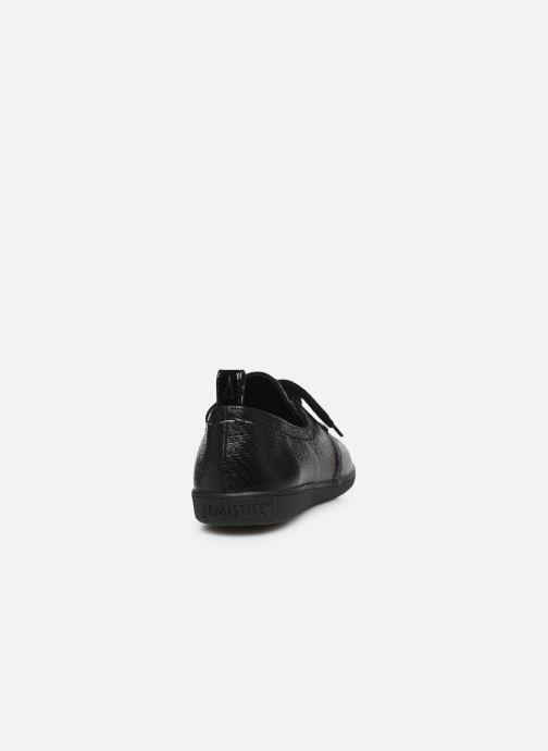 Chaussures à lacets Armistice STONE ONE W STRAW Noir vue droite