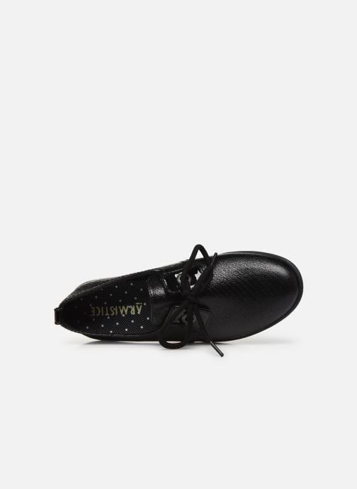 Chaussures à lacets Armistice STONE ONE W STRAW Noir vue gauche