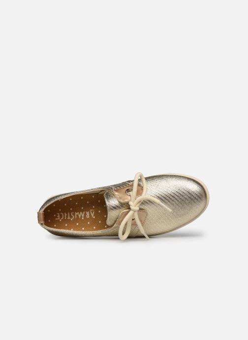 Chaussures à lacets Armistice STONE ONE W STRAW Or et bronze vue gauche