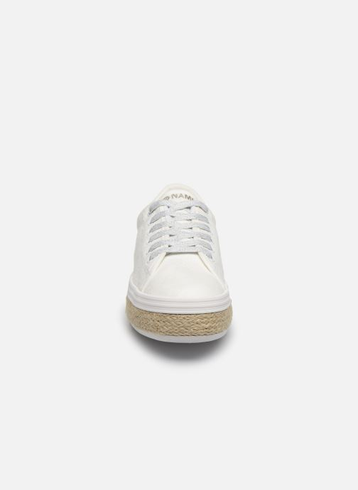 Trainers No Name MALIBU SNEAKER BRAIDY White model view