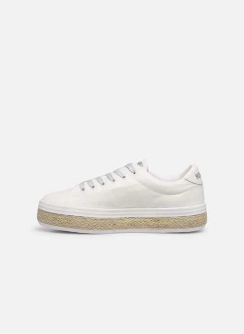 Trainers No Name MALIBU SNEAKER BRAIDY White front view