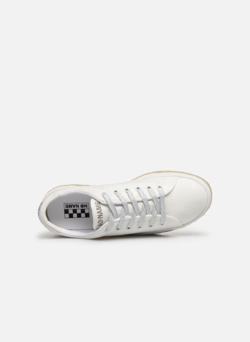 Trainers No Name MALIBU SNEAKER BRAIDY White view from the left
