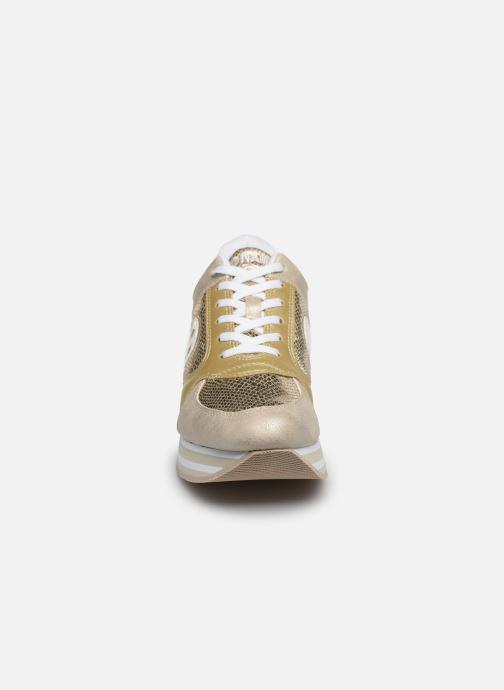 Baskets No Name PARKO JOGGER NASA/JENDA Or et bronze vue portées chaussures