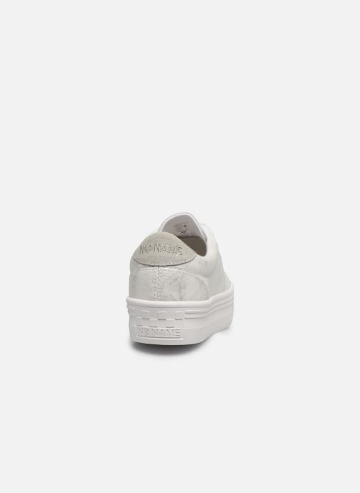 Baskets No Name PLATO M SNEAKER AFTER Argent vue droite