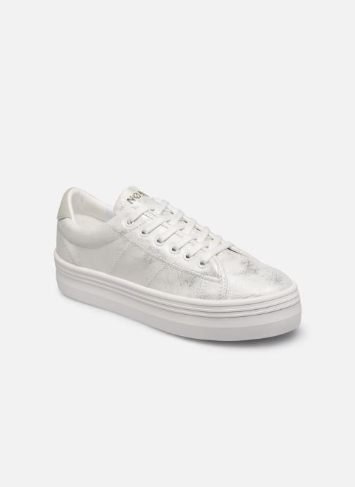 Sneakers No Name PLATO M SNEAKER AFTER Zilver detail
