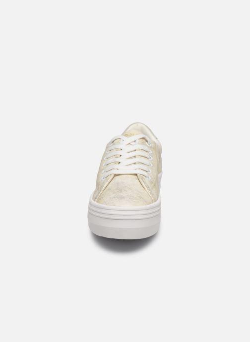 Sneaker No Name PLATO M SNEAKER AFTER gold/bronze schuhe getragen