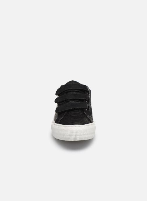 Sneakers No Name ARCADE STRAPS P.SNAKE/GLOW Nero modello indossato
