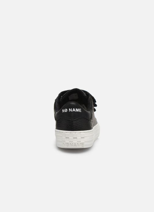 Sneakers No Name ARCADE STRAPS P.SNAKE/GLOW Nero immagine destra