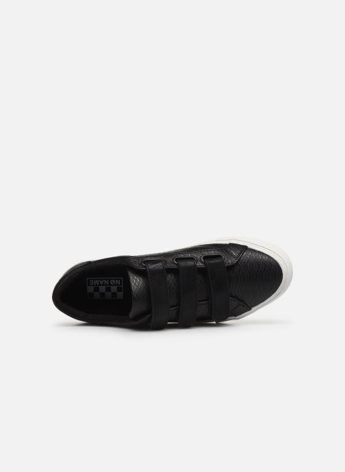 Sneakers No Name ARCADE STRAPS P.SNAKE/GLOW Nero immagine sinistra