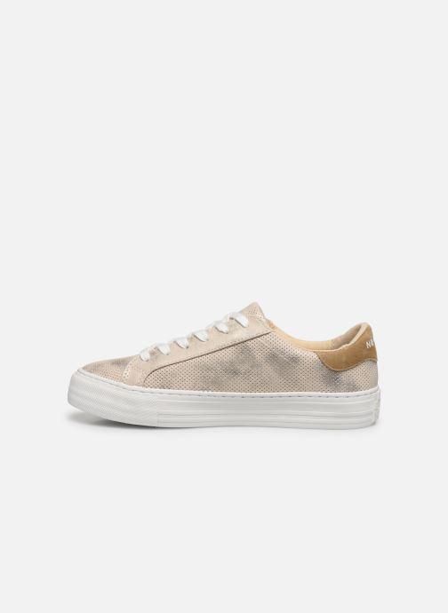 Sneakers No Name ARCADE SNEAKER PUNCH GLOW Oro e bronzo immagine frontale