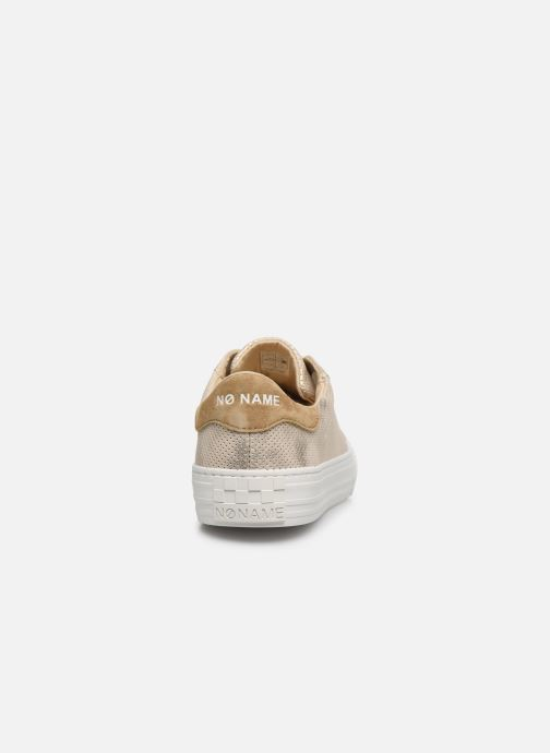 Baskets No Name ARCADE SNEAKER PUNCH GLOW Or et bronze vue droite