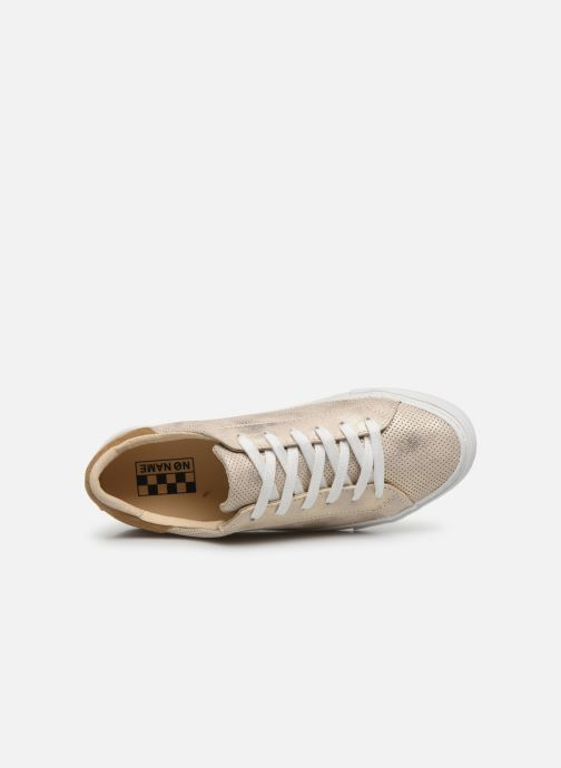 Sneakers No Name ARCADE SNEAKER PUNCH GLOW Oro e bronzo immagine sinistra
