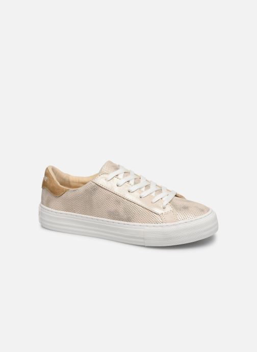 Baskets No Name ARCADE SNEAKER PUNCH GLOW Or et bronze vue détail/paire