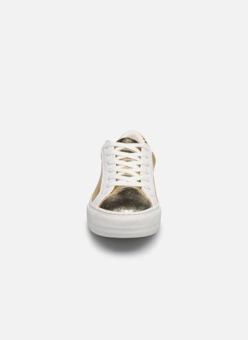 Baskets No Name ARCADE SNEAKER FOREVER/G.SUEDE Or et bronze vue portées chaussures