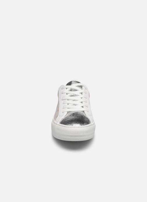 Baskets No Name ARCADE SNEAKER FOREVER/G.SUEDE Argent vue portées chaussures