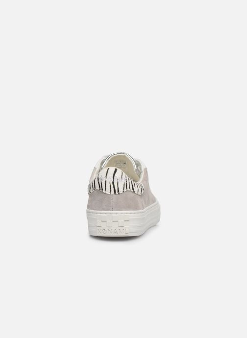 Baskets No Name ARCADE SNEAKER FOREVER/G.SUEDE Argent vue droite