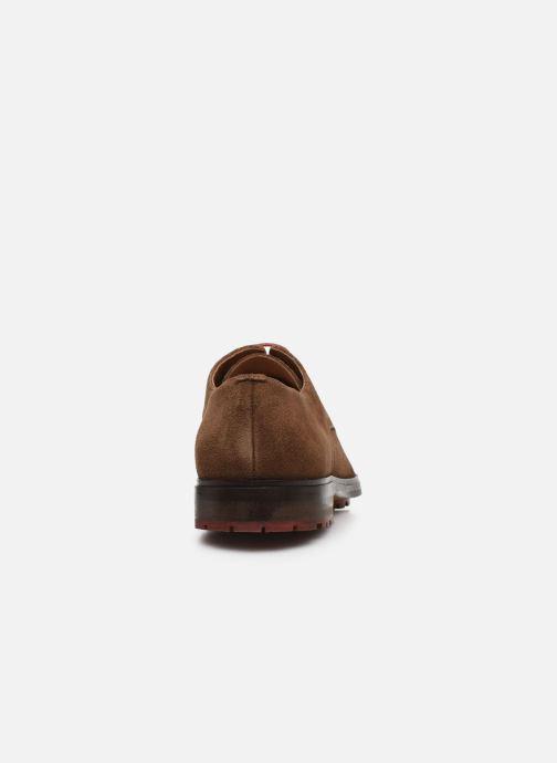 Chaussures à lacets Schmoove NAKO DERBY SUEDE Marron vue droite