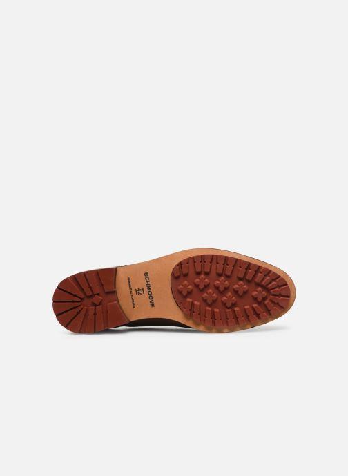 Chaussures à lacets Schmoove NAKO DERBY SUEDE Marron vue haut