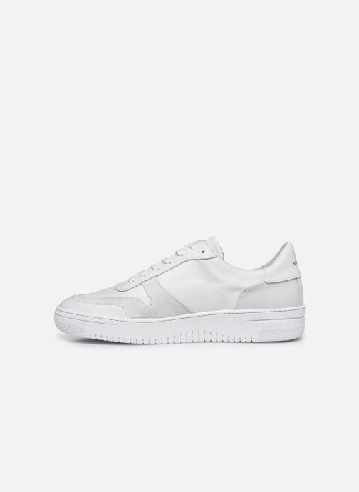 Sneakers Schmoove EVOC SNEAKER NAPPA/SUEDE Bianco immagine frontale
