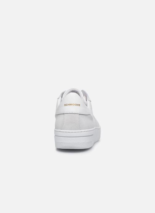 Sneakers Schmoove EVOC SNEAKER NAPPA/SUEDE Bianco immagine destra