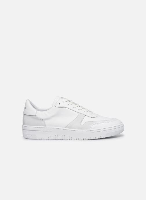 Sneakers Schmoove EVOC SNEAKER NAPPA/SUEDE Bianco immagine posteriore
