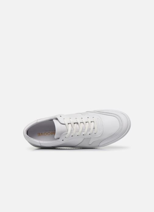Sneakers Schmoove EVOC SNEAKER NAPPA/SUEDE Bianco immagine sinistra