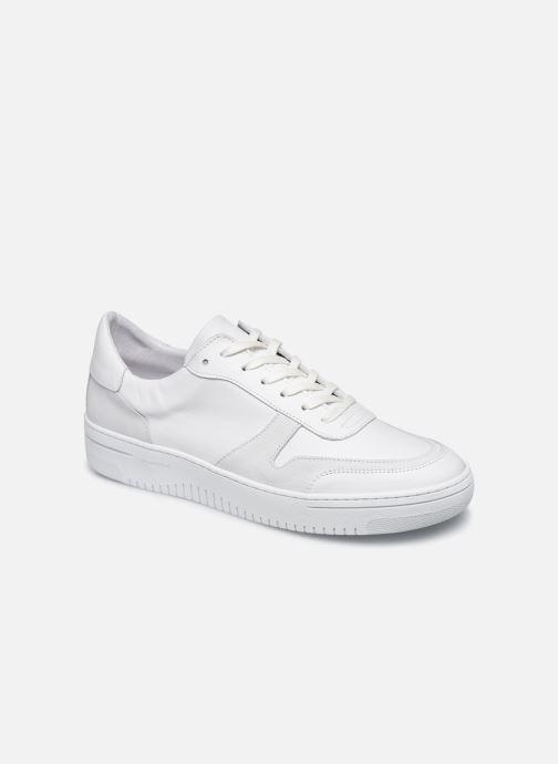 Sneakers Schmoove EVOC SNEAKER NAPPA/SUEDE Wit detail