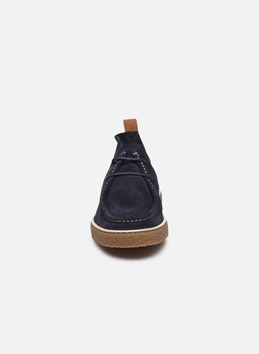 Bottines et boots Schmoove RAMDAM DESERT SUEDE Bleu vue portées chaussures