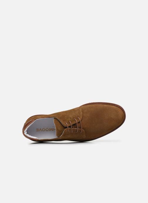 Chaussures à lacets Schmoove PUNCH DERBY P Marron vue gauche