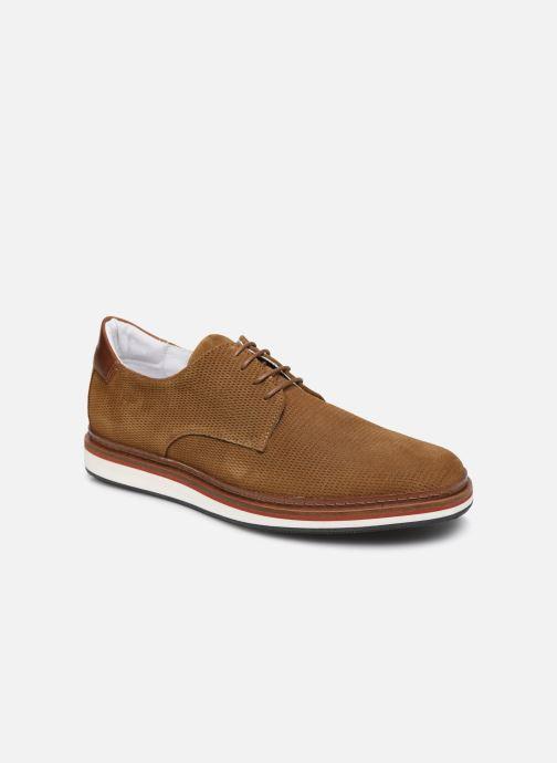 Chaussures à lacets Schmoove PUNCH DERBY P Marron vue détail/paire
