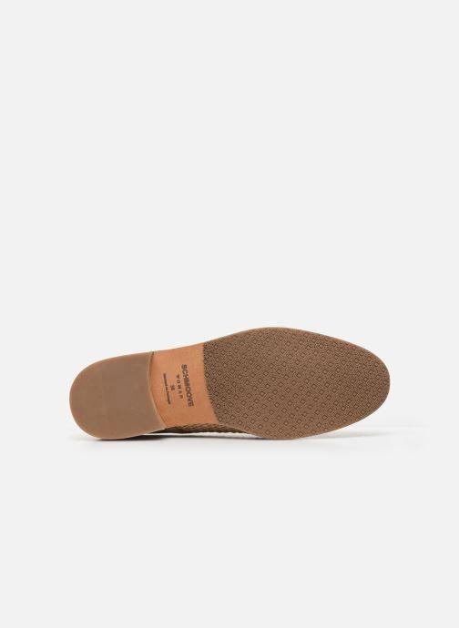 Chaussures à lacets Schmoove Woman CALL NEWLACE RAPHIA/COWSUEDE Beige vue haut